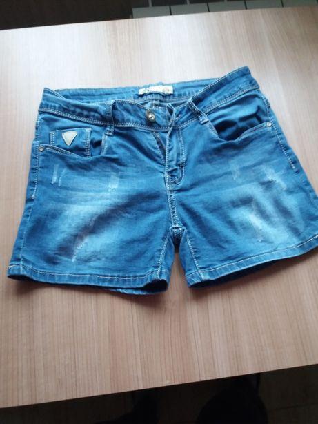 Spodenki krótkie jeans, NOWE szorty M/38