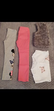 Ubrania dla dziewczynki h&m, cool club roz 116