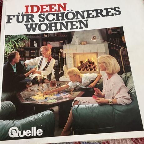 Немецкий каталог мебели Квелли Quelle 1990 г - Германия