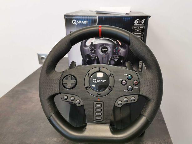 Qsmart Kierownica Rally Gt900 Pc/Ps3/Ps4/Xbox 360/Xbox One/Switch