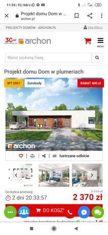 Projekt domu Dom w plumeriach