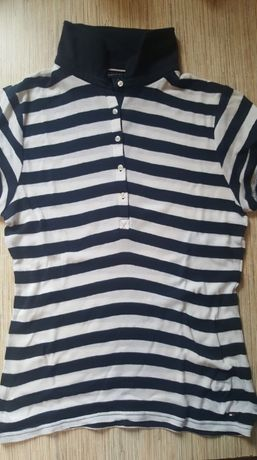 Tommy Hilfiger- sliczna koszulka polo- m