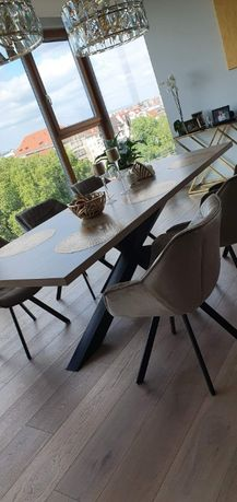 Stół debowy , jesionowy na wymiar Nowy Loft Stolarz