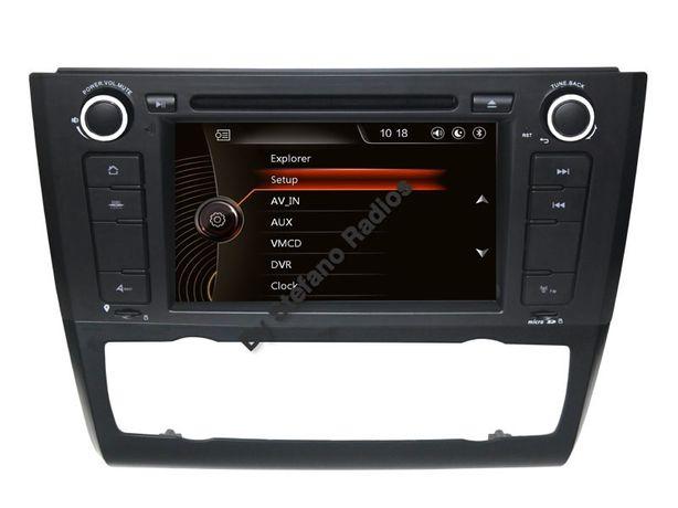 Auto Radio GPS BMW Série 1 E81/E82/E87 c/ GPS • DVD • BLUETOOTH • USB