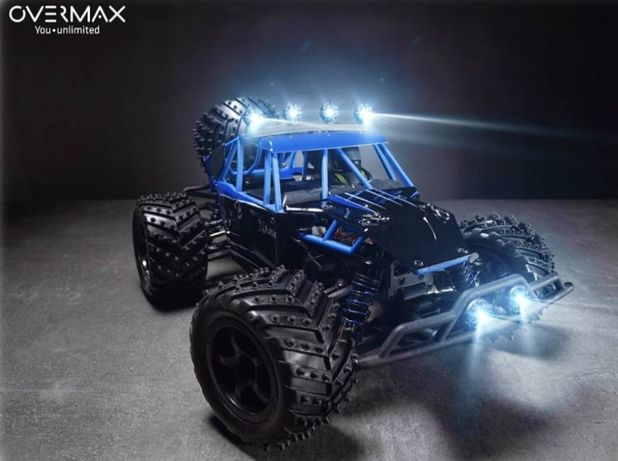 SAMOCHÓD Zdalnie Sterowany OVERMAX X-Flash 45km/h