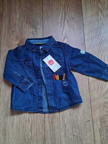 Koszula jeansowa Cool Club roz. 68 NOWA!
