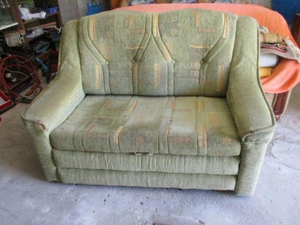 sofa rozkladana -zielona