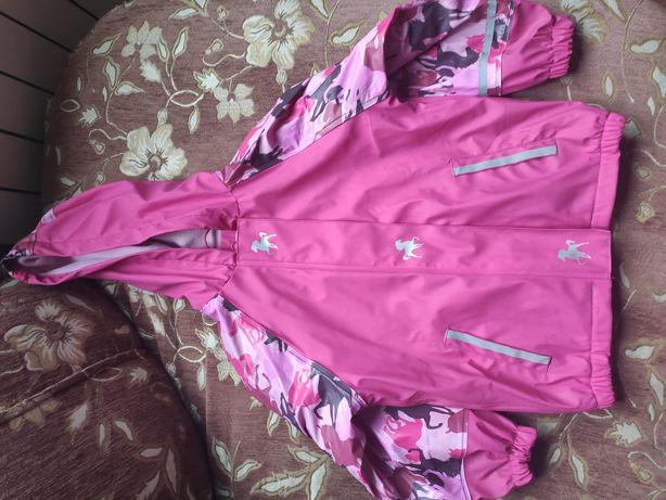Курточка Lupilu дождевик на флисе
