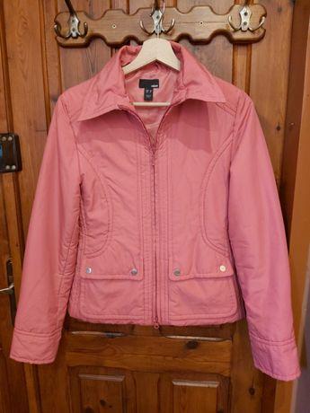 kurtka H&M r.S różowa