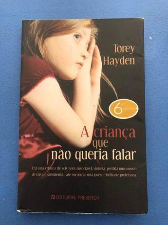 A criança que não queria falar, Torey Hayden Portes Grátis