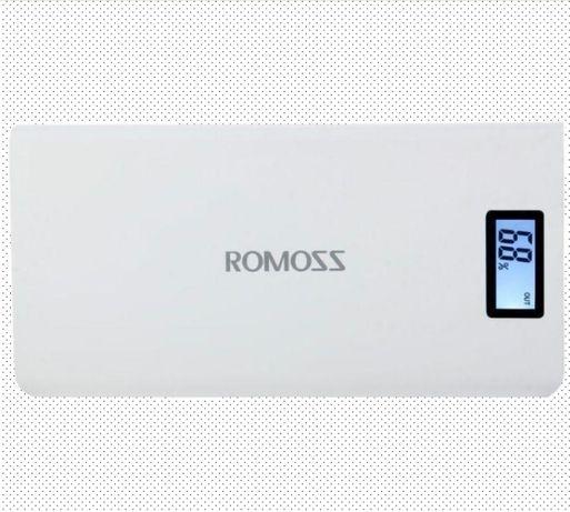 Павербанк Power Bank Romoss на 50000 mAh новый с дисплеем