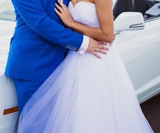 2Przepiekna suknia ślubna! OKAZJA