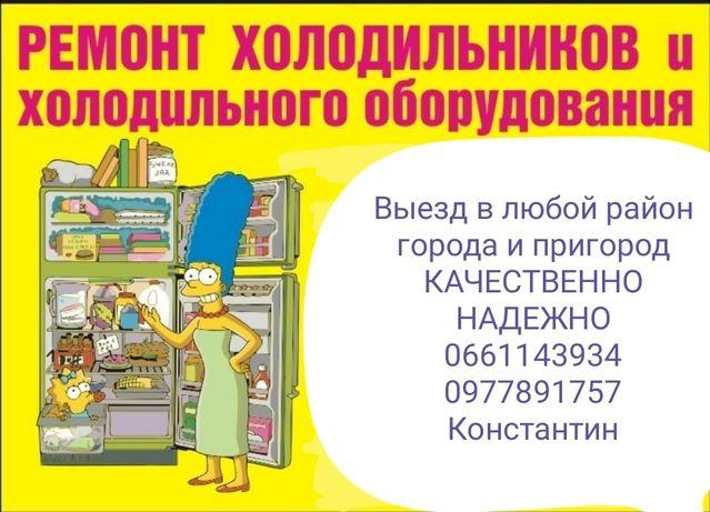 Ремонт холодильников в Запорожье без выходных