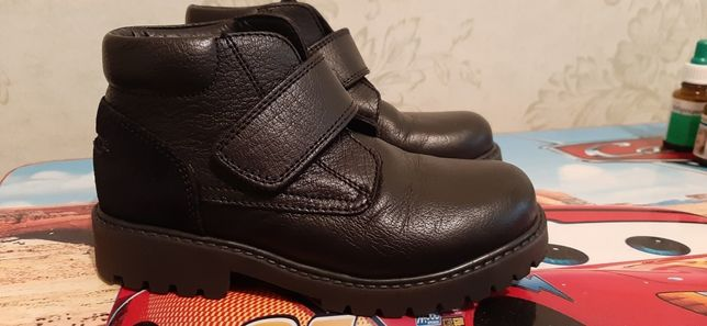 Ботинки для мальчика dolce gabanna кожа. Скидка!!! Черная пятница!