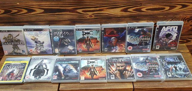 Sony ps3 castlevania dmc ninja gaiden Dante's inferno afrosamurai диск