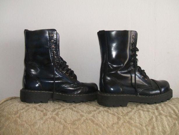 buty wojskowe komandosa 40 skórzane glany męskie