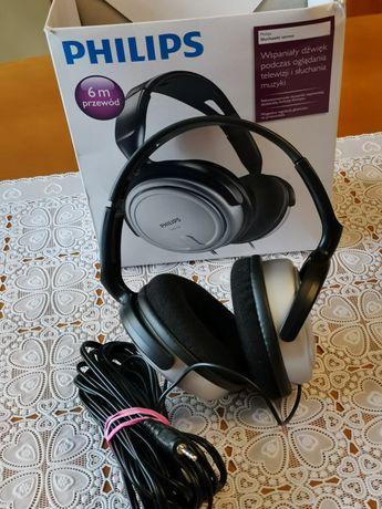 Słuchawki Philips z długim przewodem