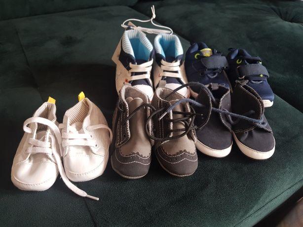 Zestaw bucików dla malucha