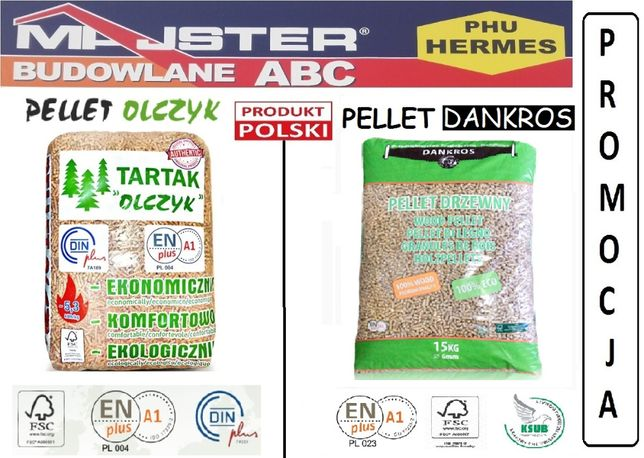 Pellet Pelet Olczyk A1 Certyfikat 6mm Dankros, Faves Kielce,  Końskie