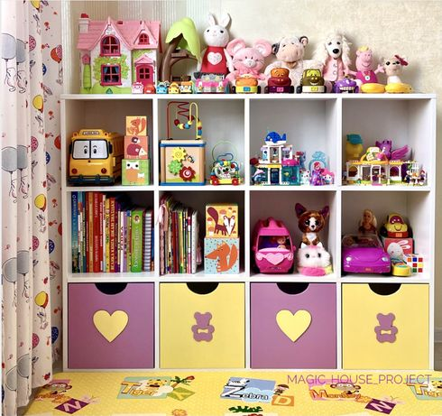 Стеллаж для игрушек/стеллаж для книг/полка для книг/стеллаж в детскую