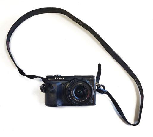 Aparat bezlusterkowiec! Panasonic DMX-GX7 Wifi, odchylany ekran
