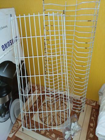 Сушка для посуды+ крепления, встраиваемая, 55 см длина