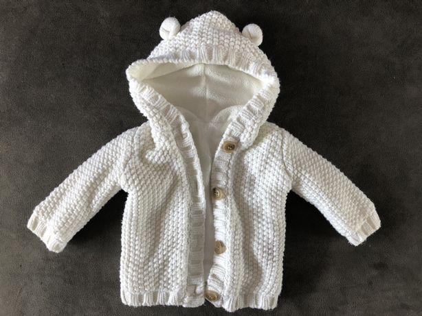 Sweterek rozpinany George 68/74
