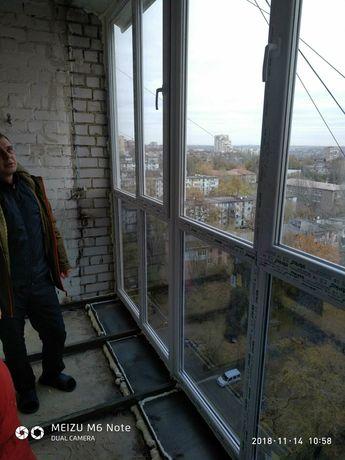 Балконы,Лоджии под ключ от производителя