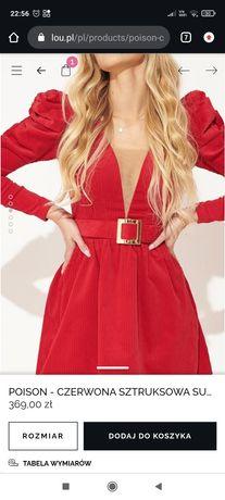 Sukienka Lou czerwona