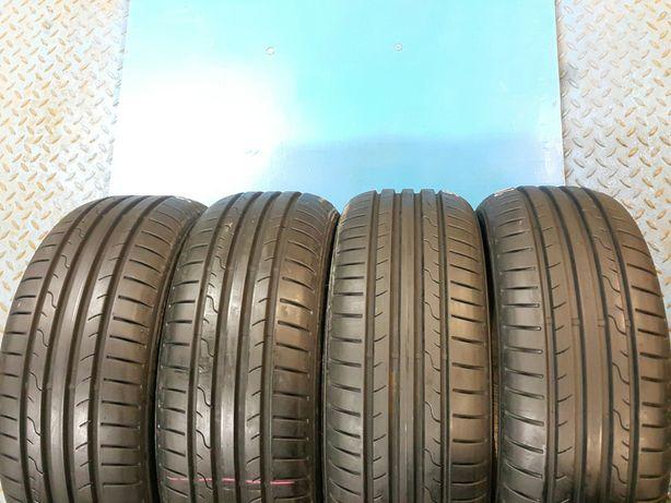 205/55 R16 Porządne opony letnie Dunlop! Wysoki bieżnik!
