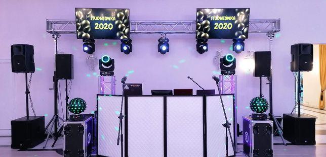 Parawan DJ Parawan LED Stanowisko Dj-a SMD DMX ATHLETIC RGBW
