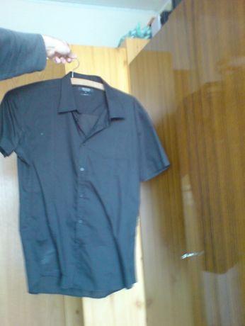 206.koszula czarna SMOG Slim fit XL Sprzedam za 20 zł lub butelkę dobr