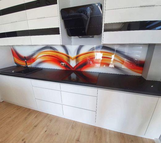 Szkło z grafiką do kuchni, Panele szklane lacobel, szkło hartowane