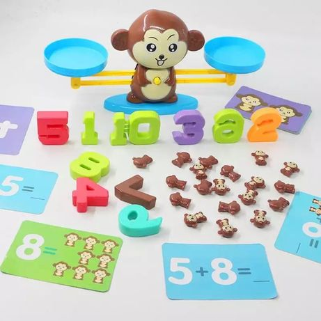 Игрушка счетовод, для мальчиков и для девочек, цифры, розвивающая