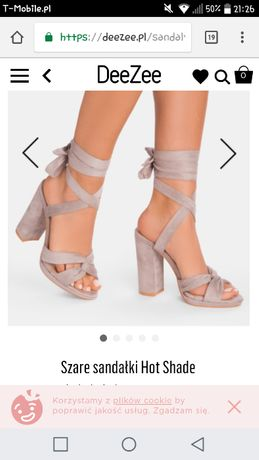 ***Sandałki rozmiar 39