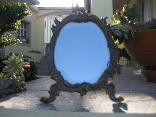Espelho em Cobre Vintage com mais de 100 anos!