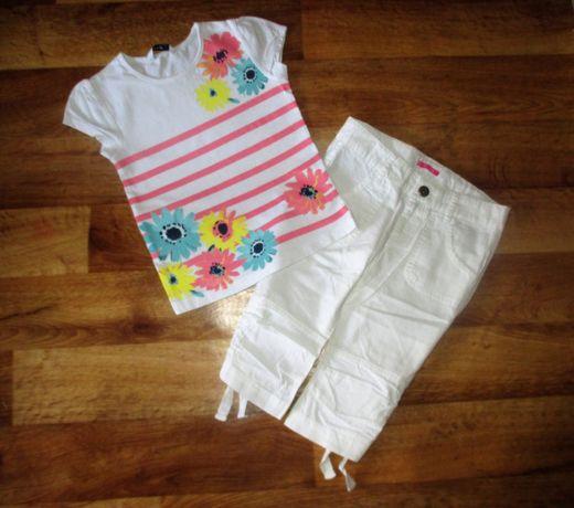 Летний комлект Next: футболка george и шорты hema, рост 110-116 см
