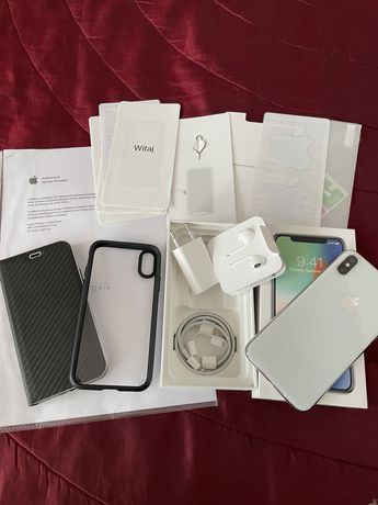 Iphone X 256gb gwarancja 31/07/2021