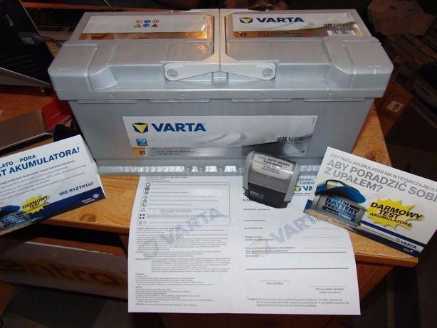 Akumulator Varta Silver 12V 110Ah 920A I1 Kraków dowóz wymiana Azory