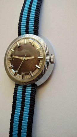 Duża Rakieta męski mechaniczny zegarek na chodzie