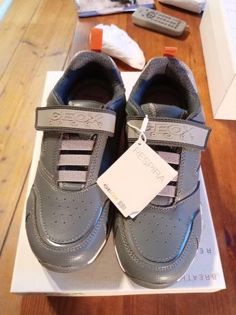 Geox respira 36 sneakersy adidasy nowe świecące paragon