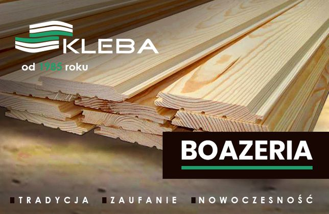 Podbitka pióro wpust - BOAZERIA - Deski obiciowe - Tartak