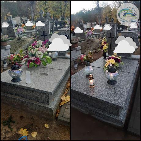 Sprzątanie grobów, całoroczna kompleksowa opieka nad grobami