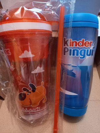 Набор стакан и термочашка от Kinder