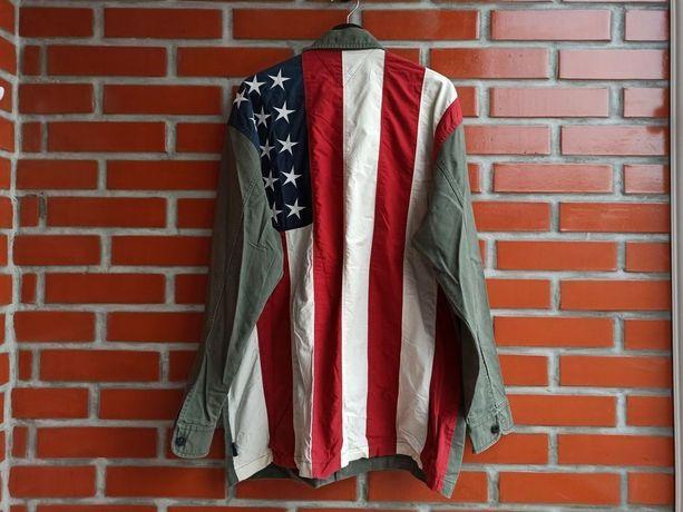 Tommy Hilfiger мужская куртка пиджак рубашка размер L Томми Б у
