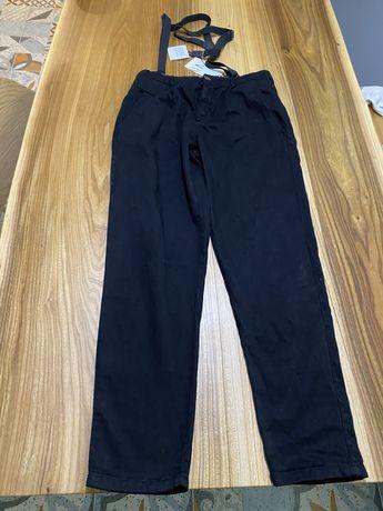 штаны чорные Zara
