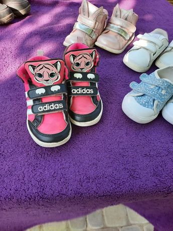 Тёплые кроссовки адидас