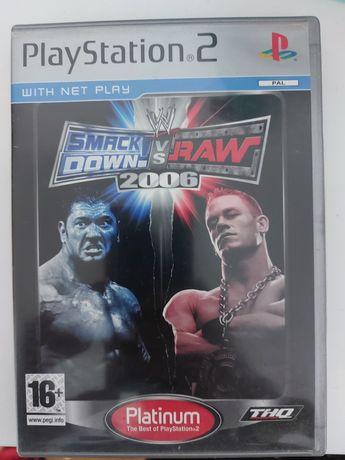 Jogo Smackdown vs Raw 2006 PS2