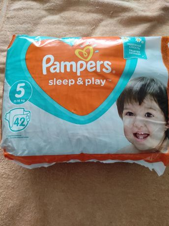 Подгузники (памперсы) Pampers sleep & play 5, 11-16 кг 42шт