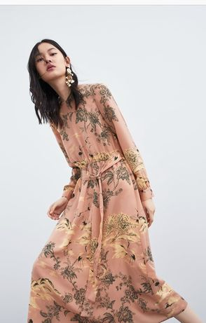 Шикарное платье Zara xs